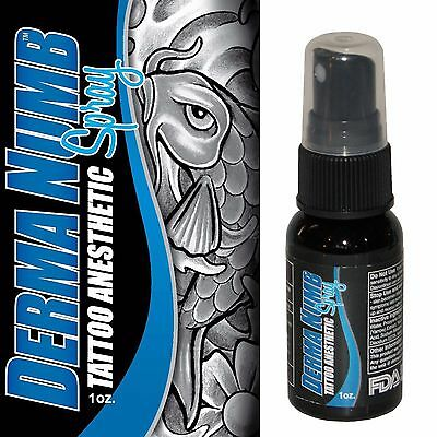Derma Numb Permanent Makeup Anesthetic Spray Painless Dr Tattoo 1 oz Lidocaine