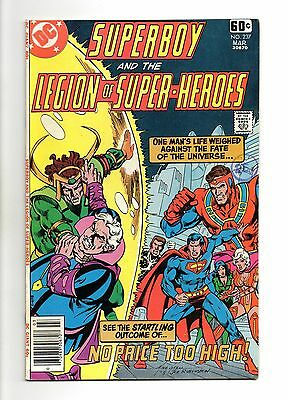 Superboy and the Legion of Super-Heroes Vol 1 No 237 Mar 1978 (VFN+) Bronze Age
