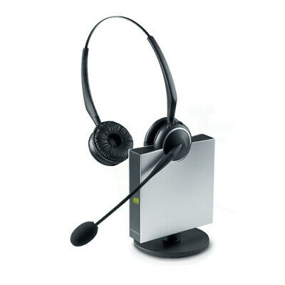 Jabra GN9125 Flex Duo NC Noise Canceling Stereo Wireless Microphone Headset New