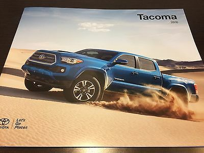 2016 Toyota Tacoma 24-page Original Dealer Brochure