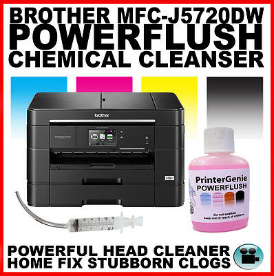 Brother MFC-J5720DW Printhead Unblocking Kit - Head Cleaner & Nozzle Cleanser