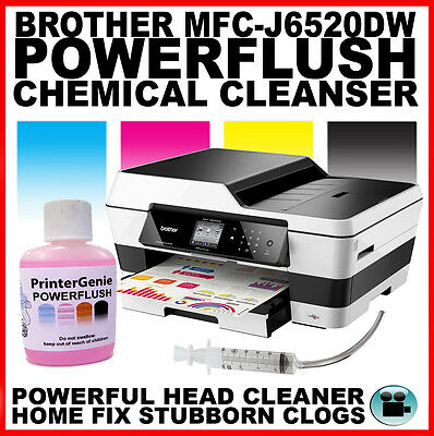Brother MFC-J6520DW Printhead Unblocking Kit - Head Cleaner & Nozzle Cleanser
