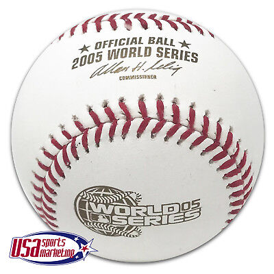 Rawlings 2005 World Series Official MLB Game Baseball Chicago White Sox - Boxed