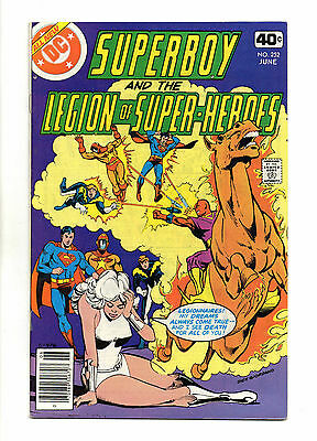 Superboy and the Legion of Super-Heroes Vol 1 No 252 Jun 1979 (VFN+) Bronze Age