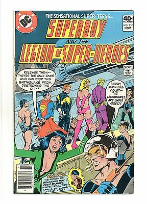 Superboy and the Legion of Super-Heroes Vol 1 No 257 Nov 1979 (VFN+) Bronze Age