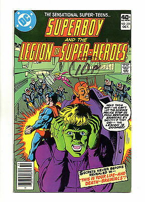 Superboy and the Legion of Super-Heroes Vol 1 No 256 Oct 1979 (VFN) Bronze Age