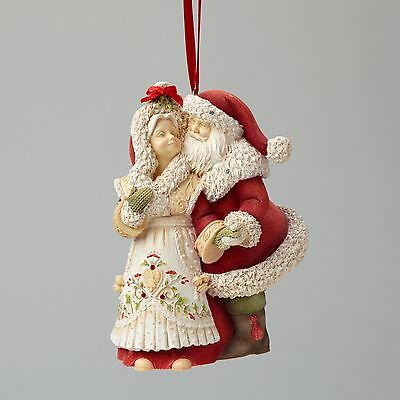 Mr & Mrs Santa Claus Ornament Heart of Christmas by Karen Hahn 4046857 NEW 2015