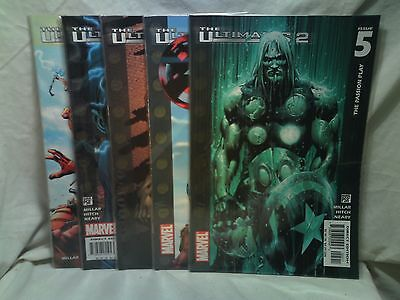 The Ultimates 2 Marvel Comics issues 1 2 3 4 5