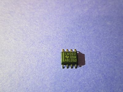 Lm393 Dual Differential Comparator 8-Pin Soic Surface Mount **new** 10/pkg