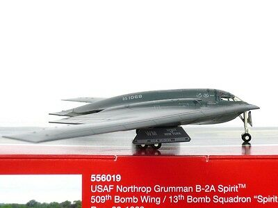 "Herpa Wings USAF Northrop Grumman B-2A 1:200 ""Spirit of New York"" (556019)"