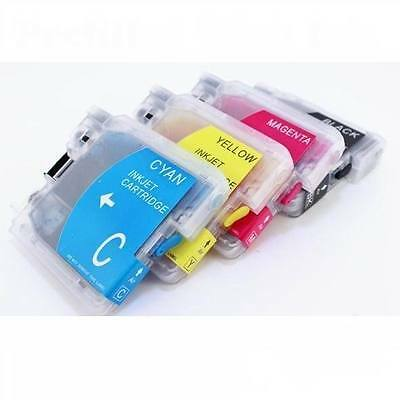Refillable ink cartridge for Brother LC61 LC-61 MFC-290C MFC-295CN MFC-490CW