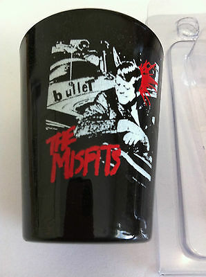 THE MISFITS Shot Glass 2 inch Bullet Design Shotglass NEW OFFICIAL MERCHANDISE