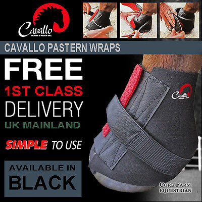 2x Cavallo PASTERN WRAPS Extra Simple/Sport Boot Hoof Protection Soft Comfort
