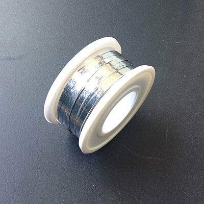 New 40' FeetS 2MM Solar Cell Panel Tabbing Wire Solder covered 12M Free Shipping