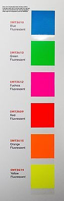 "24"" X 10 Yds Smart3000 Fluorescent Sign Vinyl Craft Hobby Race Car Pinstripe"
