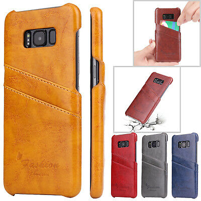 Luxury Leather Wallet Card Slot Back Case Cover For Samsung Galaxy S6 Edge Note5