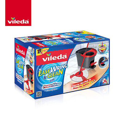 Vileda Easy Wring and Clean Spin Mop