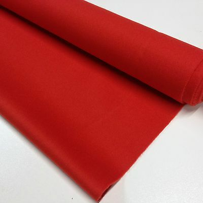 ENGLISH Hainsworth Pool Snooker Billiard Table Cloth Felt kit 8ft RED