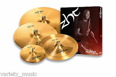 "Zildjian ZHT Sheet Cymbal value pack, 14"" Hats, 17""Crash, 20"" Ride, 16""China"