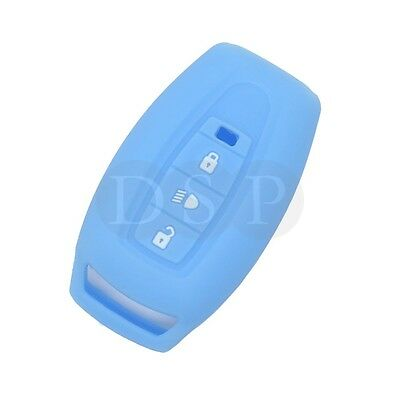 Silicone Cover Skin Jacket fit for TATA Flip Remote Key Case 3 Button CV4491RD
