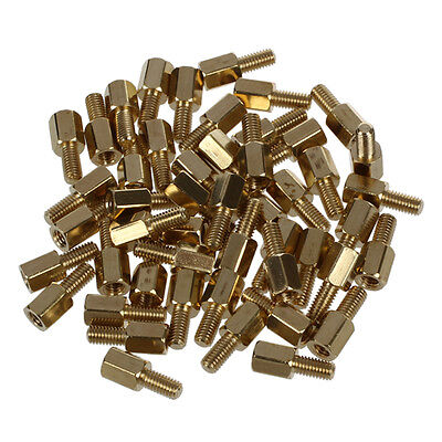 50 Pcs M3 Male x M3 Female Hex Head PCB Standoffs Spacers 12mm Length TP