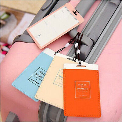 ID Tag Name Tag Label PVC Hot Travel Luggage Baggage Holder Suitcase
