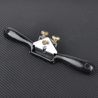 """New 9"""" Adjustable Metal Blade Spokeshave Manual Planes Curved Woodworking Tool"""