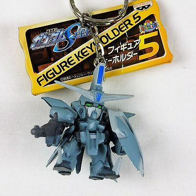 Banpresto Mobile Suit Gundam Seed Figure Key chain Holder Aegis Gundam Reactive