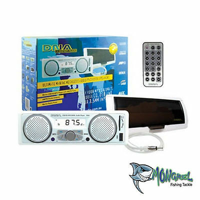 Marine Radio Stereo Built In Speakers + Antenna + Cover AM/FM USB MP3