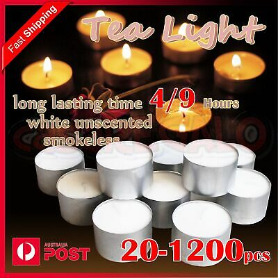 Tealight Candle Tea Light Candles Tealights Home Decor Party Wedding 9 Hours