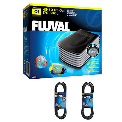 Fluval Q1 Air Pump - Quiet, Powerful Aquarium Pump