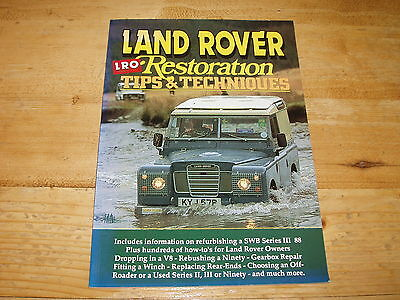 Book - Landrover Restoration Tips & Techniques