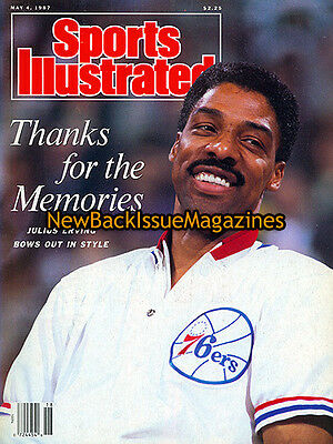 Sports Illustrated 5/87,Julius Erving,May 1987,NEW