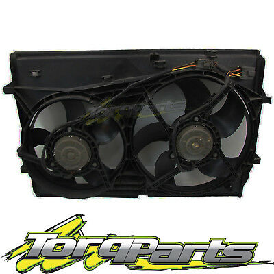 Thermo Fans Suit Holden Vz Commodore Wl Statesman 5 Pin V8 5.7 6.0 Ls1 Radiator