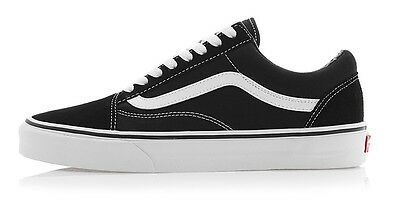 ff79c869a0a9 New Mens Vans OLD SKOOL (VN-0D3HY28) Blakc Canvas Skate Shoes Fashion  Sneakers