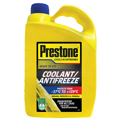 Prestone Universal Antifreeze 50/50 Ready to Use - 4 Litres 4L
