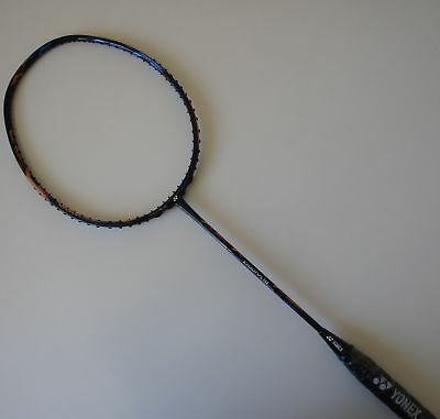 YONEX Duora 10 Badminton Racquet Duo 10, 3U5, NEW Orange/Blue, Choice of String