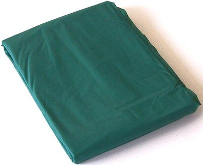 GREEN PVC Pool Snooker Billiard Table Cover for 8' ft x 4' ft pool table