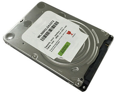 "New 500GB 7200RPM 32MB Cache SATA III (6.0Gb/s) Slim 7mm 2.5"" Laptop Hard Drive"