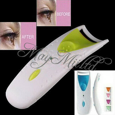 Electric Automatic Long Lasting Heated Eyelash Eye Lashes Curler Makeup Kit LS30