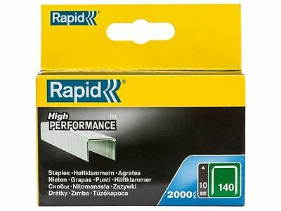 Rapid - 140/10 10mm Galvanised Staples Pack 2000