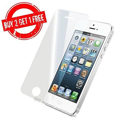 iPhone 5 5S SE 5C Premium Clear Tempered Glass Screen Protector from Canada