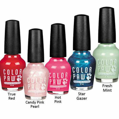 Color Paw Nail Polish for Dogs Fast Drying - Fresh Mint