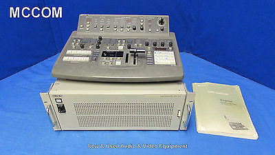 Sony DFS-500 DME Production Switcher w/ control panel, DSK Board