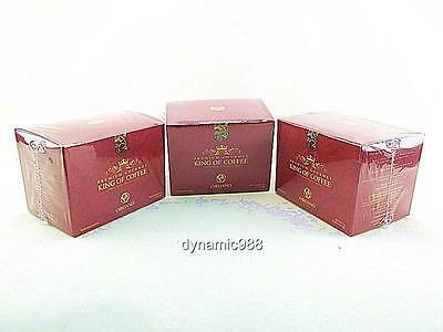 NEW 3 x ORGANO GOLD PREMIUM GOURMET KING OF COFFEE W/ GANODERMA SPORE EXP-2018