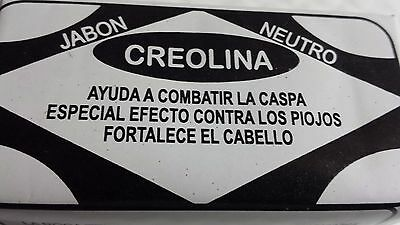 Creolina Soap Hair Fight Dandruff Lice Strengthen Hair Roof No Caspa And Piojos.
