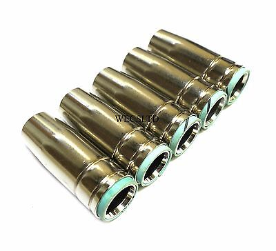 MB25 Conical Mig Welding Nozzle / Shroud - Push fit - Pack of 5 nozzles