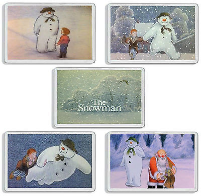 The Snowman Classic Christmas Tv Show And Dvd Movie Fridge Magnets Uk Seller