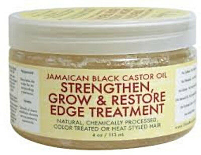 Jamaican Black Castor Oil STRENGTHEN GROW RESTORE EDGE TREATMENT Color Treated