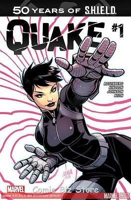 Quake Shield 50Th Anniversary #1 (2015) 1St Printing *special Low Pricing*